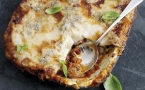 Gorgonzola Lasagne with West Country Beef